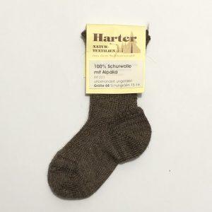 Chaussettes 100% laine vierge d'Alpaga Harter