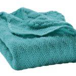 Couverture Lagon en laine mérinos Disana