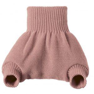 Culotte rose en laine mérinos Disana