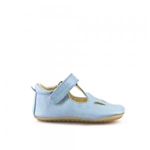 Chaussures Prewalkers T-bar Bleu Ciel Froddo