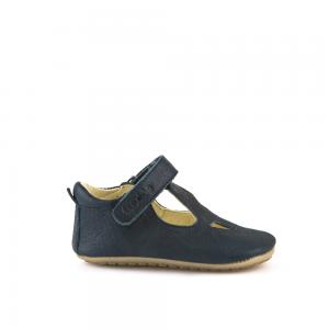 Chaussures Prewalkers T-bar Bleues marines Froddo