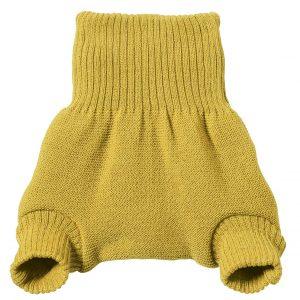 Culotte curry en laine mérinos Disana
