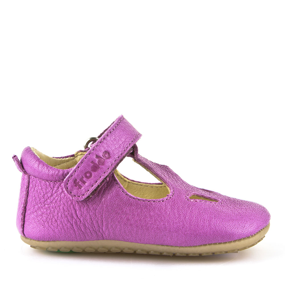 Chaussures Prewalkers Fushia T-bar Froddo