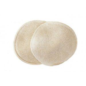 Coussinets d'allaitement soie et laine Disana