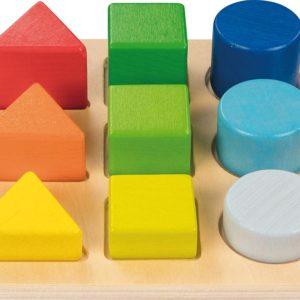 Assortir les formes et les couleurs GOKI