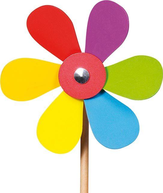 Moulin à vent fleurs GOKI