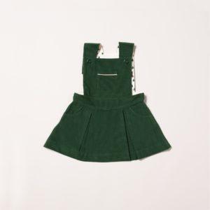 Robe à bretelles Vintage green Little Green Radicals