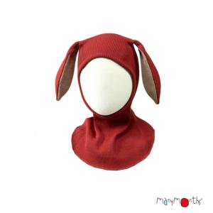 Cagoule oreilles de lapin en laine mérinos MANYMONTHS
