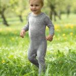 Pyjama laine et soie Gris chiné – ENGEL