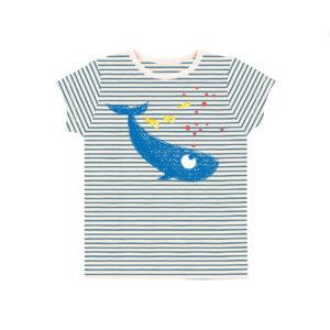 T-shirt rayé baleine – La queue du chat