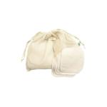 Filet et lingettes lavables essentielles en coton bio – Pitigaïa