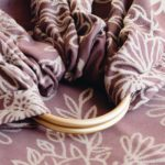 Ring sling Blossom Rosewood Limas