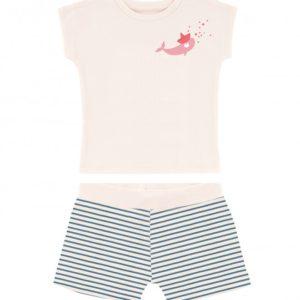 Pyjama baleine rose – La queue du chat