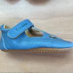 Chaussures Prewalkers T-bar Bleu clair Froddo