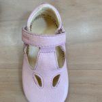 Chaussures Prewalkers T-bar Rosé poudré Froddo